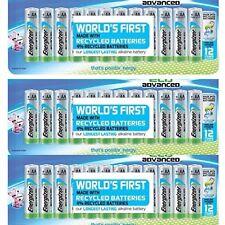 Energizer EcoAdvanced AA Batteries, Energizer's Longest-Lasting~12 Ct. ~Lot of 3