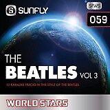 THE BEATLES VOL 3 SUNFLY KARAOKE CD+G - WORLD STARS