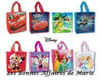 DISNEY - PROMO jusqu'à -60% - Sac shopping cabas Princess, Minnie, Mickey, Cars