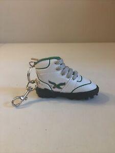"Philadelphia Eagles Vintage 1990s 4"" Sneaker Cleat Keychain Key Ring"