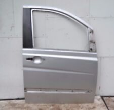 Mercedes Viano Door Shell Right Front W639 Vito Silver O/S Front Door Shell 2005