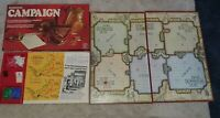 Vintage Campaign Board Game By Waddingtons 1974 - 100% Complete