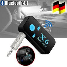 Auto Bluetooth Music Receiver Aux 3.5mm Adapter Car KFZ Wireless Audio Empfänger