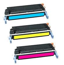 3 HP Color Laserjet 4600 4600N 4600DN 4600DTN 4610N 4650 4650DN 4650N TONER