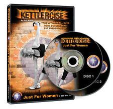 Kettlercise 'Just for Women' Kettlebell Home Workout DVD