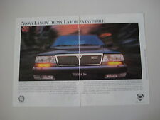 advertising Pubblicità 1993 LANCIA THEMA TURBO 16V