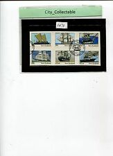 NEW ZEALAND 1990 SHIPS ATTRACTIVE FDI CACHET # S473