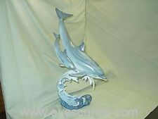 Country Artists The Natural World Dolphin And Calf LARGE Ornament Figure NEW