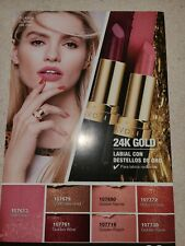 Avon TRUE COLOR 24K  GOLDEN Nectar Lipstick in Exp 12/22 covering of .1% gold