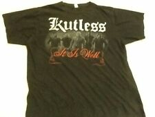 KUTLESS It Is Well Concert Tee Shirt - Black Size Medium
