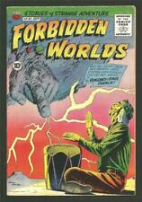 Forbidden Worlds #82, Sept. 1959