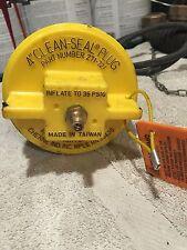 "4"" pneumatic test plug 4 inch threaded Cherne Pipe"