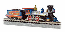 BACHMANN 51174 N 4-4-0 American Locomotive & Tender Central Pacific Jupiter, NEW