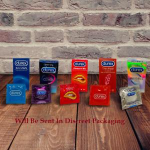 Durex Condoms Pleasure me Mutual Climax Intense XL Large Invisible Elite Thin