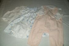Baby girls Peter Rabbit dress set & dungaree outfit from Mothercare 1-3 months