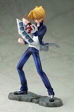 Yu-Gi-Oh! Katsuya Jonouchi Duel Monsters ARTFXJ Statue w/Keychain Kotobukiya NEW