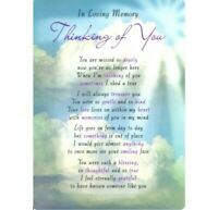 💔Grave Card THINKING OF YOU Memorial Funeral Graveside Remembrance Cemetery💔