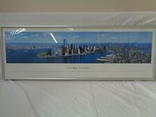 PANORAMIC VIEW - New York New York photo picture print in frame