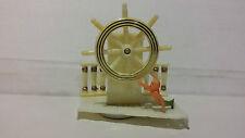 Vintage Sergeant's Ship's Helm - Plastic Aquarium Decorator & Aerator Ornament
