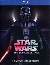 Star Wars: The Skywalker Saga (Blu-ray 2020) 12 Disc Collection, Fast Shipping!
