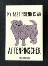 Affenpinscher Magnet Handmade Dog Gifts Kitchen Refrigerator and Locker Decor
