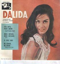 DALIDA EP Espagne 1960 Itsi Bitsi, Petit Bikini +3