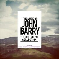 JOHN BARRY-THE DEFINITIVE COLLECTION 6 CD NEW BARRY,JOHN
