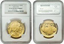 USA 2011-W Buffalo 50 Dollars Gold 1 oz Coin NGC PF-69