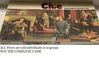 U-PICK 1972 Clue Game parts and pieces