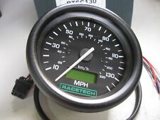 80mm, RACETECH, ELECTRONIC SPEEDO, SPEEDOMETER, 0 - 130 MPH, RALLY, KITCAR,