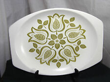 Retro J & G Meakin Maidstone Tulip Time Large Oblong Serving platter. Excellent.