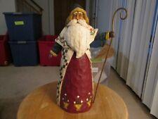 Jim Shore 2002 # 105533 Santa w/ Staff