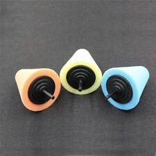 Car-styling Wheel Hub Polish Buffing tools brush Wash Car Pad Foam Metal Cone