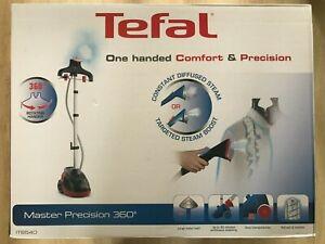Tefal Master Precision 360 IT6540G0 Upright Garment/Clothes Steamer - Black/Rasp