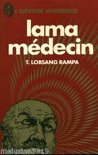 Livre ésotérisme  Lama médecin - T. Lobsang Rampa    book