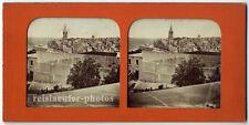 Stereophoto, Stereofoto, transparent, Malta um 1880.