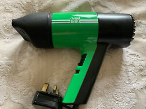 Clairol 1200 Hairdryer Green Vintage/ Retro 1970's 1980's Collectible