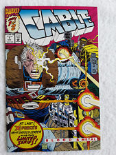Cable - Blood and Metal #1 (Oct 1992, Marvel) Vol #1 Vf+