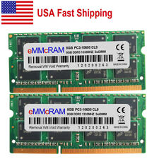 US 16GB 2X8GB PC3-10600 DDR3-1333 MHz 204Pin 1.5V Non-ECC SO-DIMM Laptop Memory