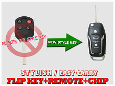 New Flip OEM Chip Key Entry Remote For 2011 12 13 14 15 16 2017 Ford Focus