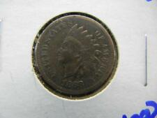 KEY DATE 1868 INDIAN HEAD PENNY. THE LETTERS IN LIBERTY ARE VISIBLE Lot 53
