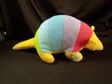 PPG paints advertising plush retro vintage armadillo rainbow 1980's mascot promo