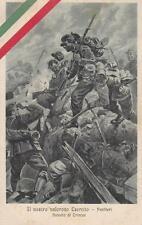 A9477) WW1, IL NOSTRO VALOROSO ESERCITO, ASSALTO DI TRINCEE NEMICHE.