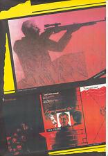 Original Vintage Poster Russian Soviet Glasnost 1989 Anti-Stalin Russia Kondurov