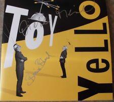 2 LP Vinyl Album – YELLO - TOY (handsigned by Boris Blank & Dieter Meier – NEW)