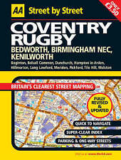 AA Street by Street Coventry, Rugby by Aa, Automobile Association (Paperback, 2…