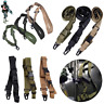 Airsoft  Metal Buckle Hunting Gun Belt  Shoulder Tactical Strap Sling Point