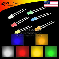 6colors 600pcs 3mm Diffused Mix Kits White Red Green Blue Light LED Diodes