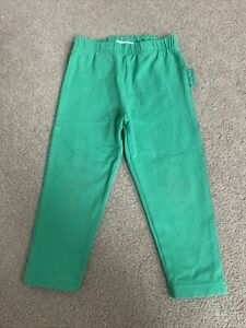 Toby Tiger Green Leggings Size 1-2 Years