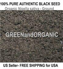 1/4 Lb Amazing BLACK CUMIN SEED Fine Ground ORGANIC Herbs NIGELLA SATIVA Powder